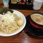 麺屋 もず - 豚骨魚介つけ麺400g 780円(税込)+味玉