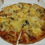 ピザリトルパーティ - シーフードのミックスピザ