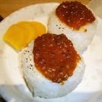 信州松本ヒカリヤ - 蕎麦味噌の焼きおにぎり❤ ♪o((〃∇〃o))((o〃∇〃))o♪