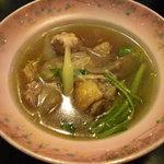 グルメ・きむら - 比内地鶏の出汁は旨い。