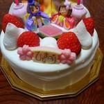 48300259 - ひな祭りデコレーションケーキ