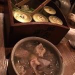 48300851 - モツ煮(塩)
