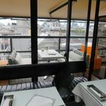 マーサーカフェテラスハウス - N.Y.のペントハウスをイメージしたと云う都会的な店内1