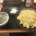ホーライ - 納豆チャーハン大盛り