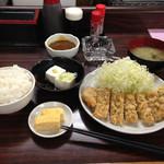 よしみ食堂 - とんかつ定食700円