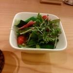 松阪牛網焼きおくやま - コースに付いてくるサラダ