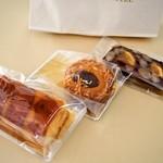 メリッサ - 焼き菓子を3つ購入♪