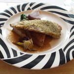 48303308 - みやじ豚と三浦大根のステーキ。樽熟バルサミコソース。1800円