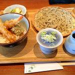 なかやしき - 小海老天丼セット1134円