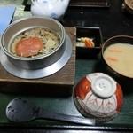 48305568 - ズガニの釜飯定食