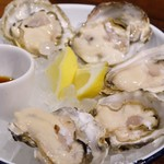 48305903 - 生牡蠣(長崎の小長井)