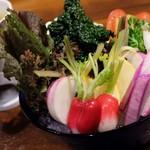 48305906 - 鎌倉野菜のバーニャ・カウダ