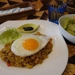 Cafe PolePole - 料理写真:バリ風ドライカレー