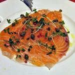 フレンチ食堂 ブラッスリーポー - 料理写真:自家製マリネサーモン(2016年3月)