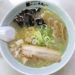 ラーメン寳龍 - 塩ラーメン(野菜抜き)のアップ