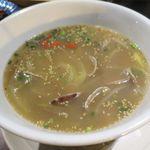 ワールド チャイニーズ キッチン ルーラン - アサリのスープ