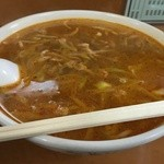 菊亭 - ザーサイソバ。塩らーめん!ピリ辛でスープが最高に美味しい!!久しぶりに美味しいラーメンに出会えた!