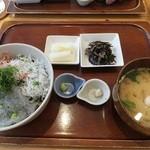 キチプラス - 三色丼