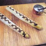 コテ・フー - ホワイトアスパラガスをシンプルに焼いて