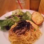 WIRED CAFE Dining Lounge - ランチの明太子パスタ