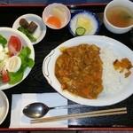 寿屋本家 - なつかしい味カレー定食