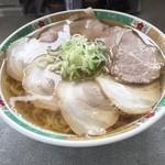 麺龍 - ハーフ&ハーフ(大盛)