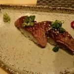 Bacci - 松坂牛の炙り寿司