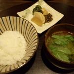 料理屋 仁 - 食事(28年3月)