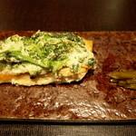料理屋 仁 - 焼き魚、桜鱒 菜の花(28年3月)