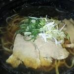 拉麺帝国 - 醤油ラーメン630円