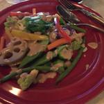48329352 - 温野菜のバーニャカウダソース