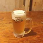 北の庄や - 生ビール