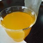 新島水産 - ☆オレンジジュースもゴクリ(^v^)☆