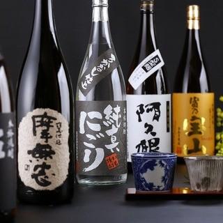 福岡の地酒と九州の焼酎をご堪能下さい。