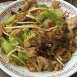 ひばり食堂 - いのしし焼肉丼 700円