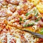 Buffet Restaurant ホテルマイステイズ横浜 - アスパラとベーコンのピザ