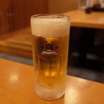 沼津魚がし鮨 流れ鮨 - 生ビール