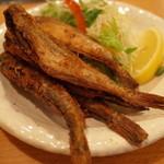 沼津魚がし鮨 流れ鮨 - はたはた唐揚げ