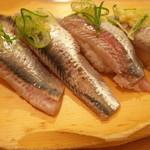 沼津魚がし鮨 流れ鮨 - 真いわし