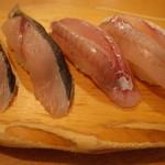 沼津魚がし鮨 流れ鮨 - さわらとほうぼう