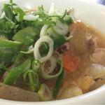 千成 - 料理写真:豚肉味噌煮込み(日替わり620円)