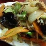 どさん子娘 - 肉野菜炒め定食・850円