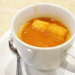 インドラ マハール - スープです。 (・∀・)