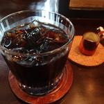 カフェ・ド・パルファン - アイス・コーヒーです