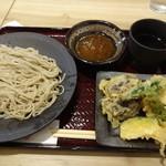 人形町 双庵 - 野菜天ぷらそば(16-03)