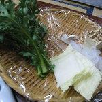 肉の大河原 - 豆腐など