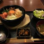 甘太郎 - 甘印!石焼ビビンバ定食 ¥750
