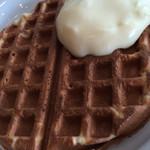 グランビュッフェ - 2016.01 自分で焼くワッフルにカスタードクリーム