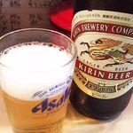 48341858 - 瓶ビール