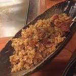 シンバシ テッパン - カレーチャーハン 美味い!